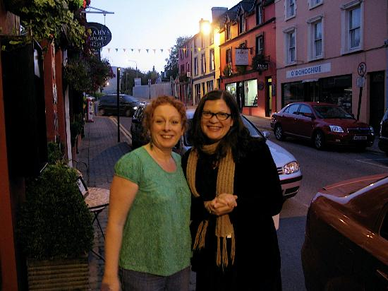 Virginia's Guesthouse Kenmare: Noreen and me!