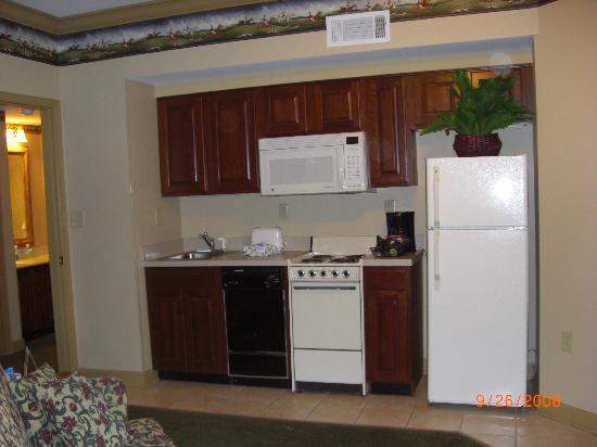 Wyndham Nashville: Kitchen Mini Suite