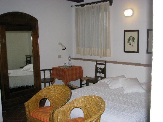 Agriturismo Apparita: Our room