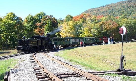 Cass Scenic Railroad State Park: Rest Stop halfway up the mountain