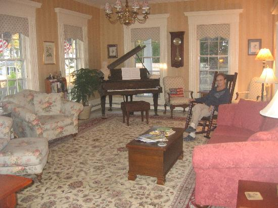 Liberty Hill Inn : The sitting room