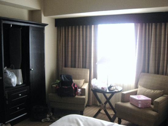 Sheraton Garden Grove - Anaheim South Hotel : nice room, ugly views