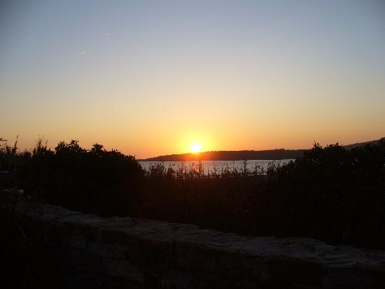 Hostal La Hormiga Voladora: tramonto visto dall'hostal