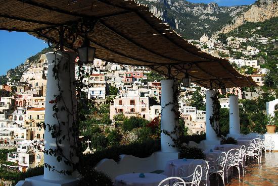 Le Sirenuse Hotel : breakfast area