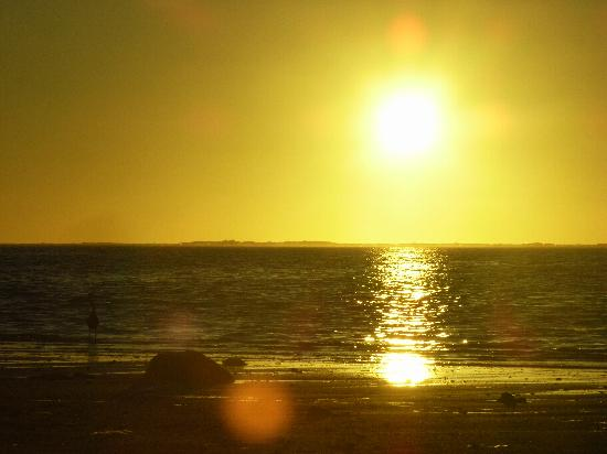 Muri Retreat: Sunrise seen from Muri Lagoon