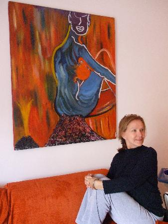 Caracciolo 10 Bed and Breakfast : Strike a pose (modern art in every room)