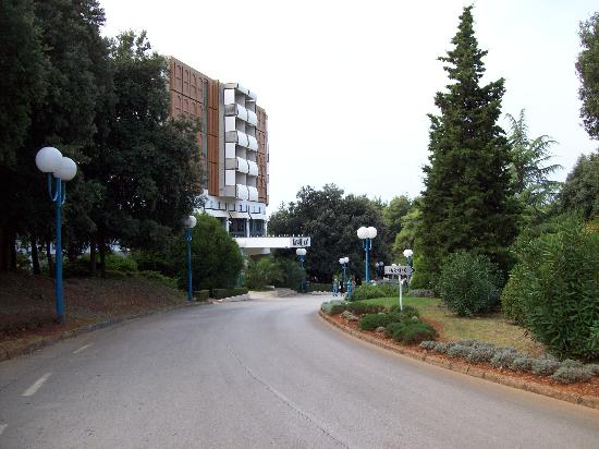Pical Hotel: The entrance to the Hotel