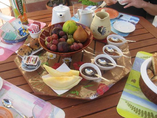 Bed & Breakfast Dolce Silenzio : petit déjeuner