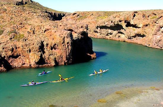 Province of Santa Cruz, Αργεντινή: Travesia con Kayaks por la Ria Deseado