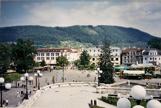 Zilina Region, Slovakia: Main pedestrian street, Zilina