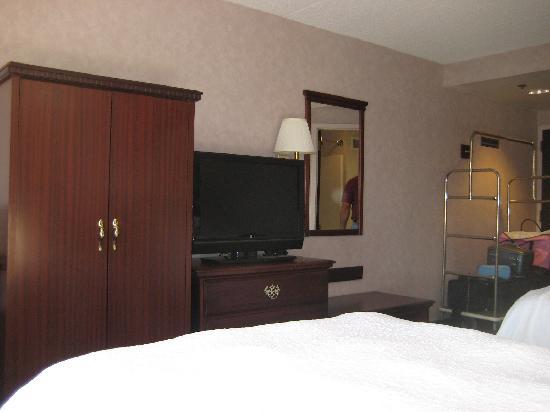 Hampton Inn Dubois: The room.