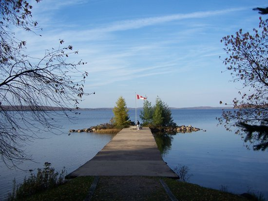 Sundridge, Canada: View of Dock