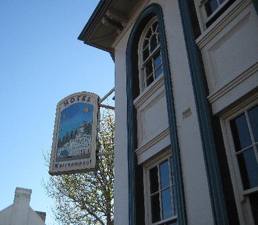 Hotel Warrnambool : Outside of hotel