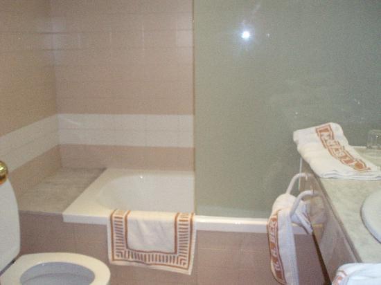 Aparthotel Bertran: bathroom
