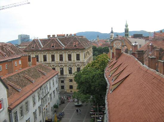 Graz, Østrig: view from the tower