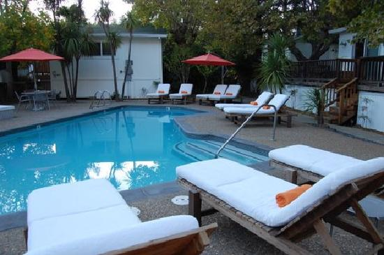 boon hotel & spa: another view of the pool