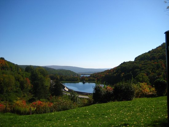 ‪‪Horseshoe Curve National Historic Landmark‬: View on 10/10/08‬