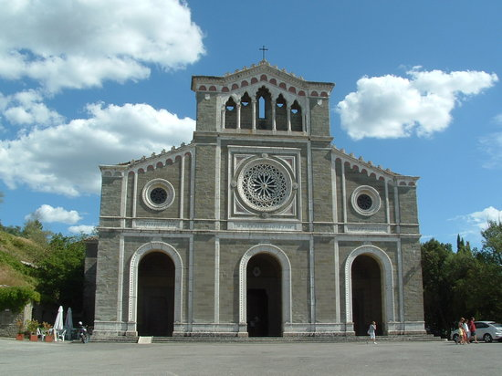 ‪‪Cortona‬, إيطاليا: Santa Margherita Church, Cortona‬