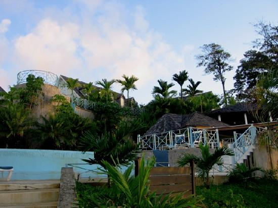 Salybia Nature Resort & Spa - view from the pool