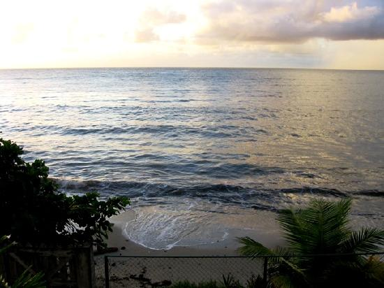 The ocean, seen from Salybia Nature Resort & Spa
