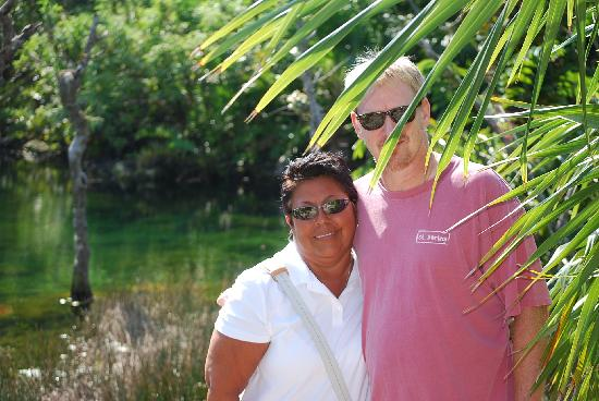The Royal Haciendas All Suites Resort & Spa: Marta & Don at Cenotes Azules