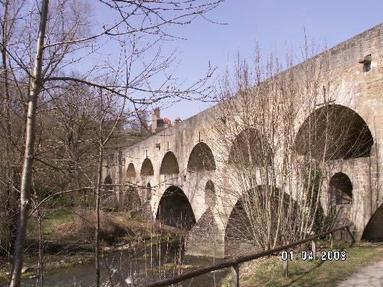 Medieval Double Bridge: The double bridge