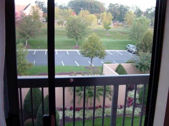 Courtyard by Marriott Richmond Northwest: Balcony off the room