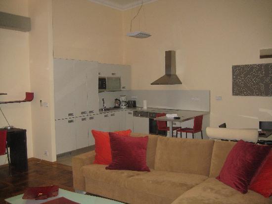 Residence Karolina - Prague City Apartments : Lounge/Kitchen