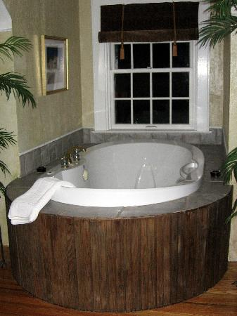 Wild Goose Inn Bed & Breakfast: Summer Safari jacuzzi