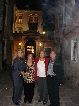Casinò di Venezia : casino divenezia (me on left)