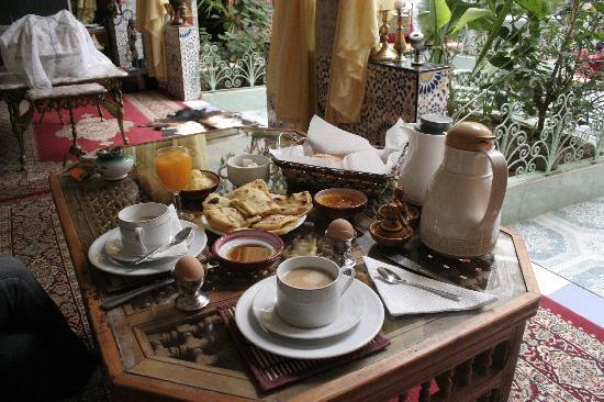 Riad Chennaoui: Desayuno