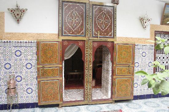 Riad Chennaoui Marrakech: Las puertas de la habitación