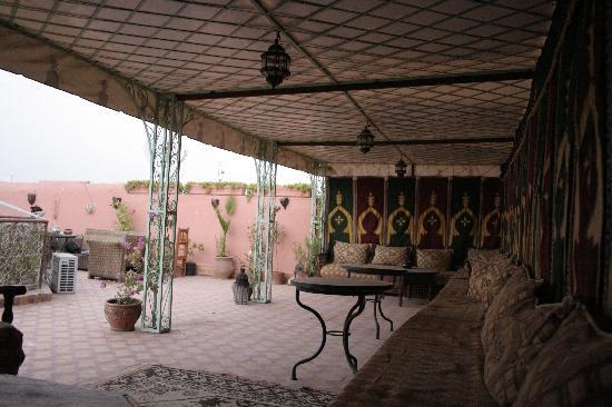 Riad Chennaoui Marrakech: La Terraza