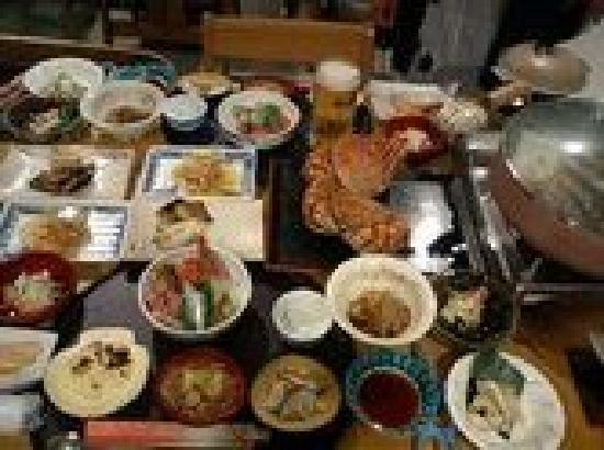 Senchonoie : 夕食の一部