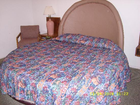 Route 66 Motel: The Bed!!