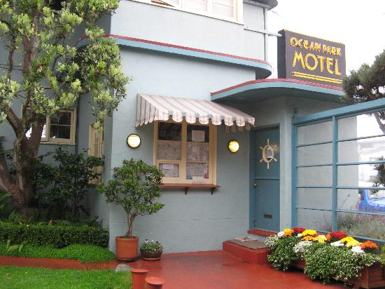 Ocean Park Motel : Ocean Park office