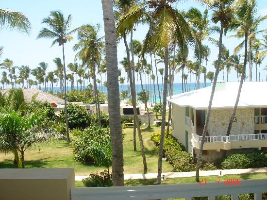 Sirenis Punta Cana Resort Casino & Aquagames: seaview from room J206