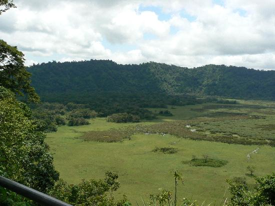 Four Points by Sheraton Arusha, The Arusha Hotel : Arusha Nat'l park crater