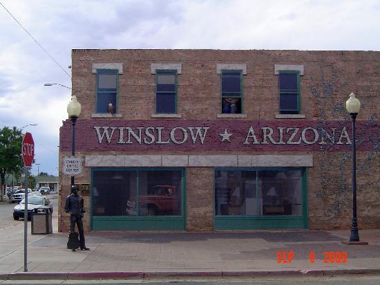 La Posada Hotel: Standin' on the Corner in Winslow Arizona