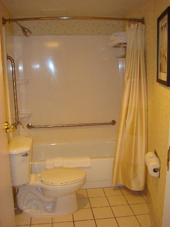 bathroom picture of springhill suites fort lauderdale. Black Bedroom Furniture Sets. Home Design Ideas