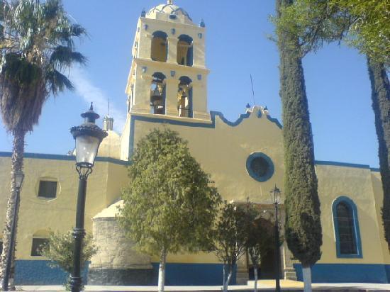 Parras de la Fuente, Mexico: iglesia principal