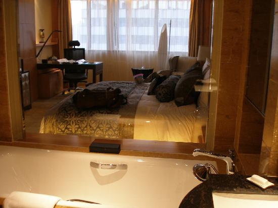 Bohao Radegast Hotel Beijing: room from bathroom