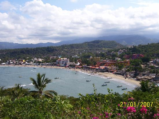 Pacific Coast, Mexico: Guayabitos is nearby