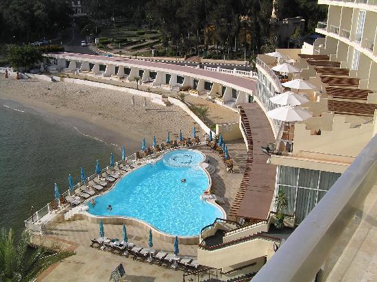 Helnan Palestine Hotel : Pool area