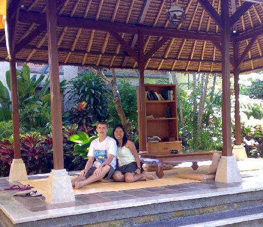 Risata Bali Resort & Spa: the small reading/praying place