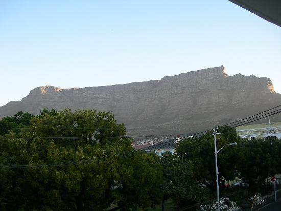 Table Mountain Lodge: view from room