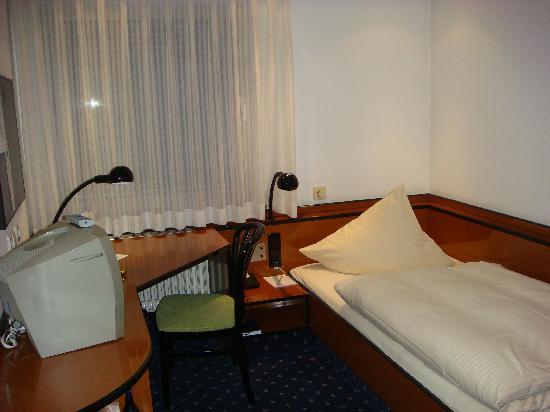 City Partner Hotel Goldenes Rad: Einzelzimmer