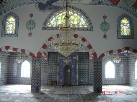 Grand Pasa Hotel: interieure de la mosqaui