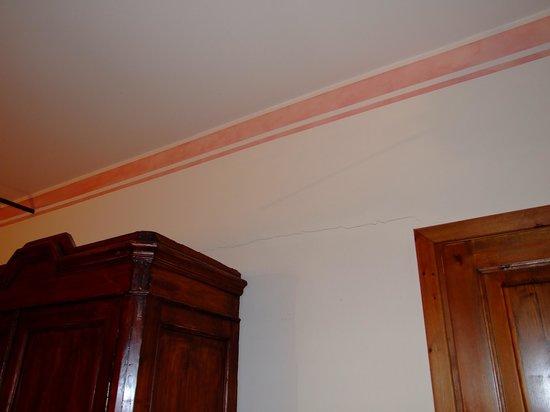 Le Decke risse in wänden und decke picture of country villas fattoria le