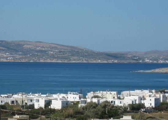 Naxos Kalimera Hotel: View over Agia Anna